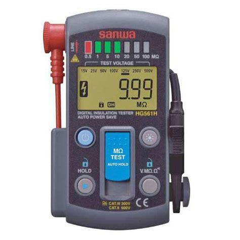 Mg5000 Sanwa Digital Insulation Tester sanwa hg561h insulation resistance tester meter digital
