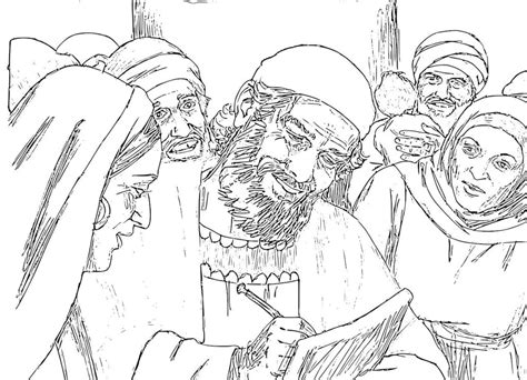 coloring pages of the birth of john the baptist birth of john the baptist coloring pages www pixshark