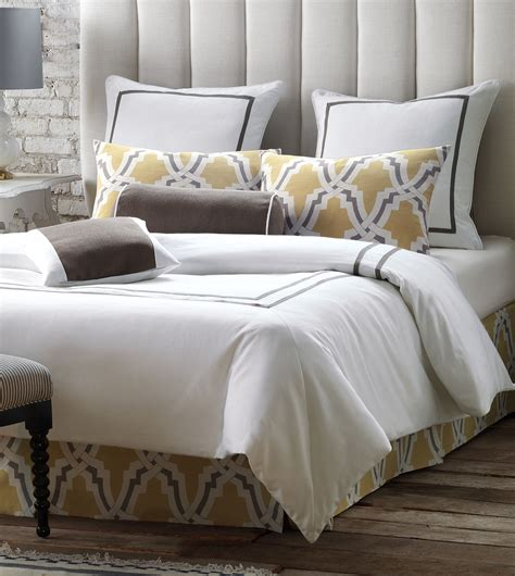 Duvet Comforter by Niche Luxury Bedding By Eastern Accents Autry White