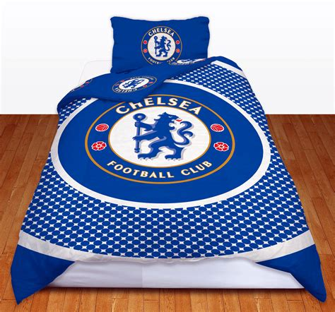 Chelsea Set Seprei Cover Azni chelsea fc football club single duvet quilt cover bedding