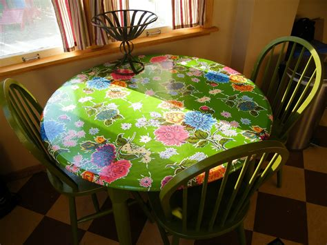fitted tablecloths for oval tables soduel fitted oil cloth table slipcover mini tutorial
