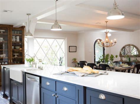 fixer upper kitchen lighting
