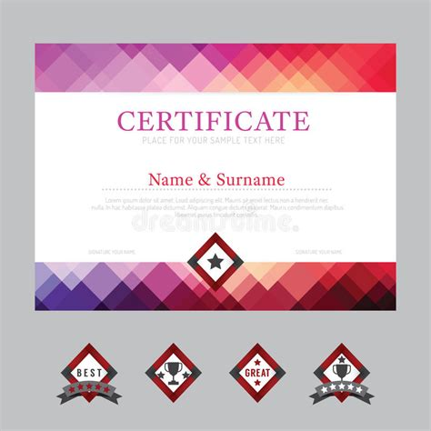 ed2go web design certificate review certificate template layout background frame design vector