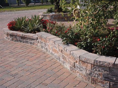 muretto giardino muretto di mattoni in calcestruzzo per giardino murago
