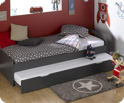 colchones 90x200 cama nido de 90x200cm con 2 colchones color gris