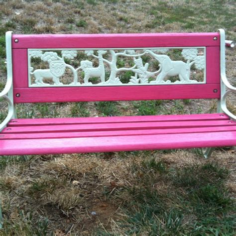 painted bench painted bench outdoor inspirations pinterest