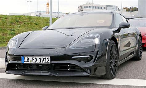 Porsche Neuheiten 2019 by Porsche Taycan 2019 Erste Fotos Vom Mission E