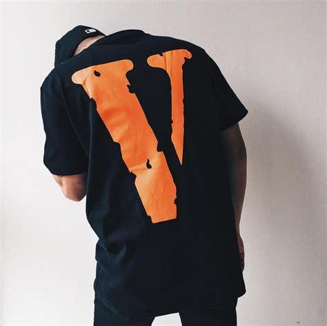 V Lone Friends Orange white x vlone f streetwear