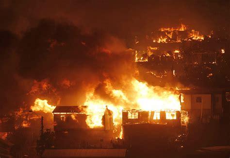 ciudad en llamas 8439731167 chile en llamas incendio 16 muertos 10 mil evacuados