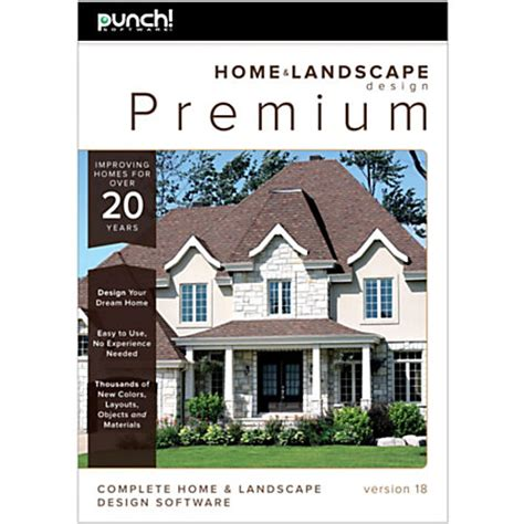 punch software home and landscape design premium v18