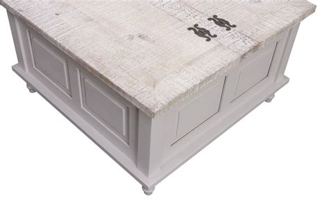 white trunk coffee table inadam furniture square coffee table trunk white or