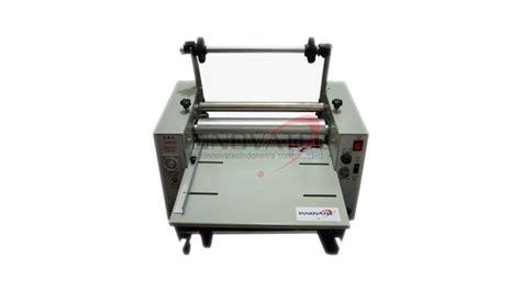 Mesin Laminating High Press With Cutter laminator high press premium innovatec indonesia