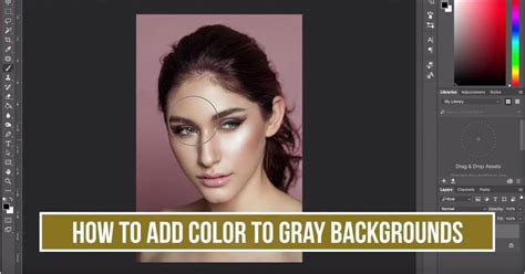 add color how to add color to your gray background with photoshop