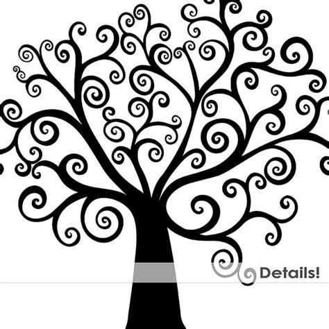 black and white tree images black and white tree of clipart clipartsgram