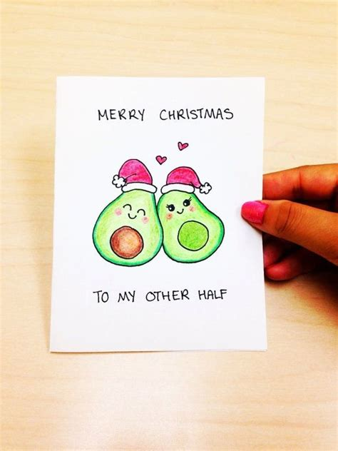 funny christmas card boyfriend merry christmas     cute christmas card gir