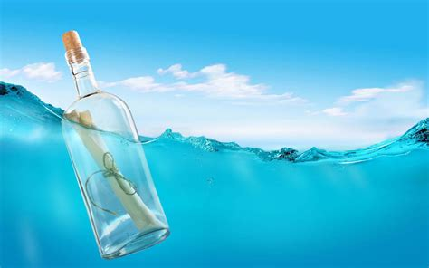 background for messages message in a bottle hd 3d and abstract wallpapers for