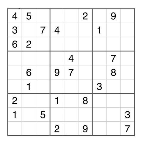Grille Sudoku by Sudoku Gratuit En Ligne Grille Sudoku Imprimer Sudoku