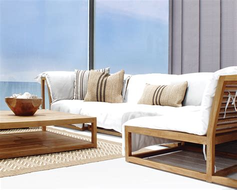 Teak Sectional Outdoor Furniture by Teak Sectional Patio Furniture Chicpeastudio