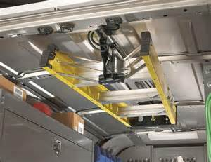 work truck shelving jet rack step ladder storage system from american