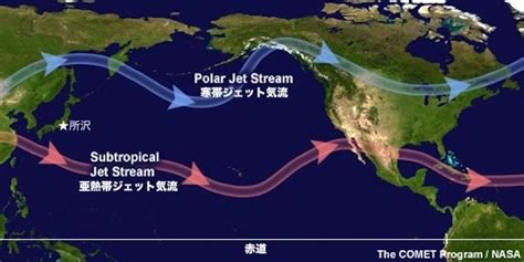 america jetstream map 特報 地球の気流が壊れた ジェット気流が赤道を通過して北極から南極に進むという異常すぎる事態 このことにより
