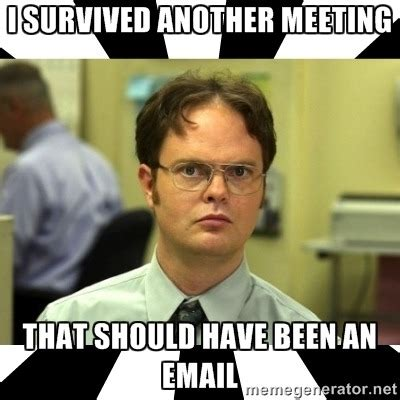 Office Meeting Meme - image gallery office meeting meme