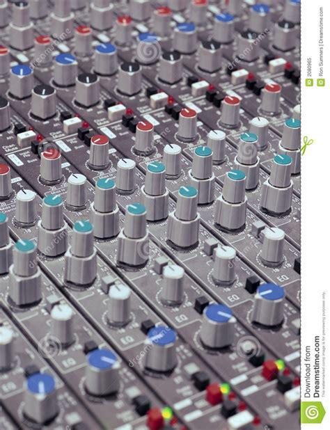 soundboard knobs royalty free stock photo image 2080965