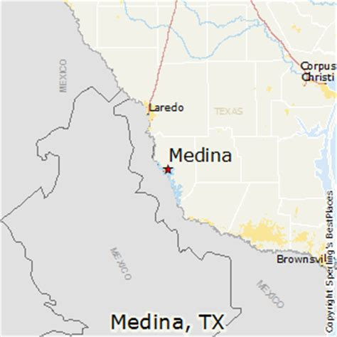 medina texas map best places to live in medina texas