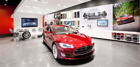 Tesla Showroom San Jose Tesla Motors Triples Size Of Santana Row Showroom In San