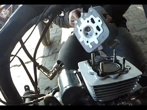 hava sogutmali motosiklet silindir piston degisimi video