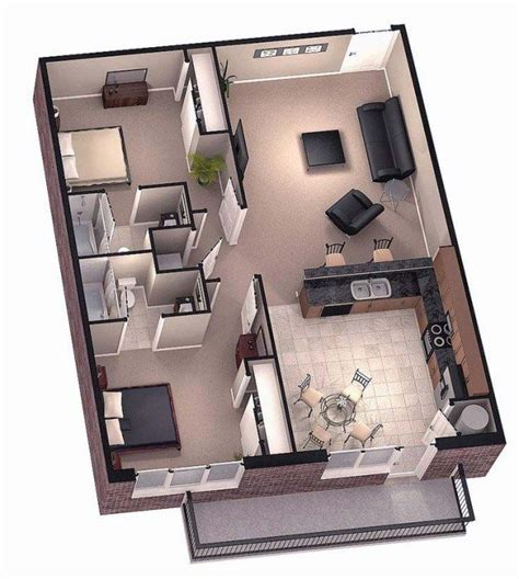 tiny house 2 bedroom 17 best ideas about 2 bedroom house plans on pinterest 2
