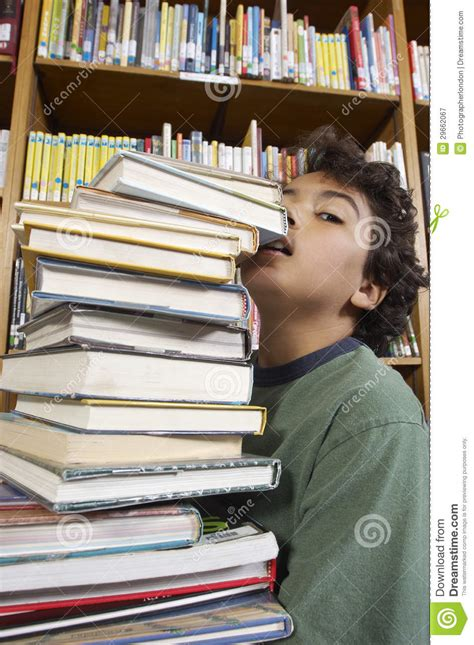 self portrait with boy a novel books boy carrying books royalty free stock photography image