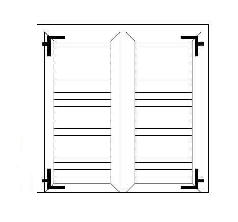 persiane dwg produzione di persiane in pvc o alluminio per porte e finestre