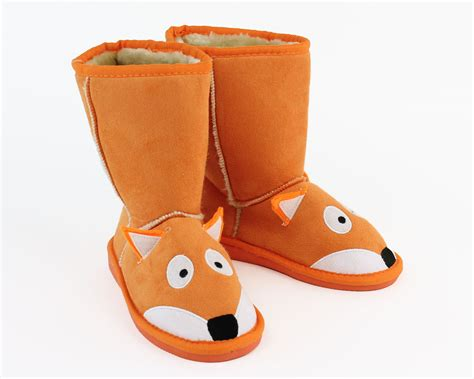 toddler slipper boots toasty toez fox slippers fox boot slippers