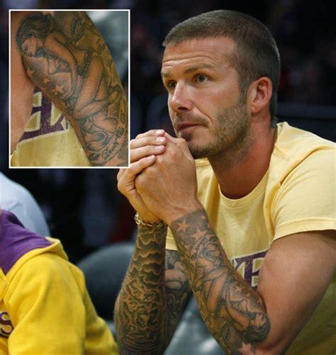 beckham tattoo latest david beckham tattoos designs