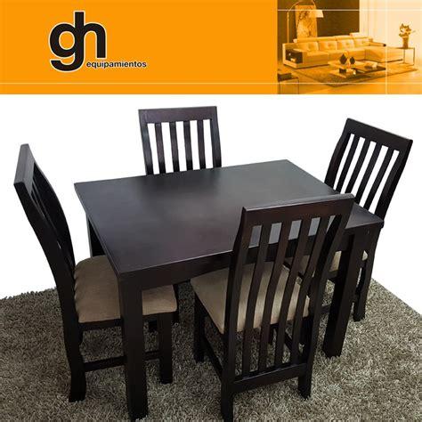 sillas  cocina comedor mesa living madera maciza gh