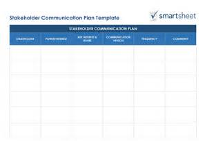 Stakeholder Analysis Template by Free Stakeholder Analysis Templates Smartsheet