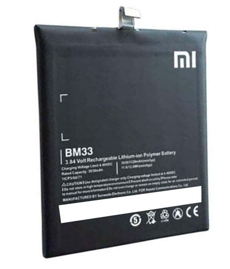 Battery Batre Baterai Xiaomi Mi4i Mi 4i Bm33 Original xiaomi bm33 lithium polymar 3030 mah battery for xiaomi redmi mi4i batteries at low