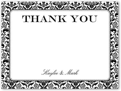 classic damask border greeting card cards