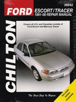 car repair manuals online pdf 1995 ford contour user handbook chiltons 1995 ford contour wagon manual