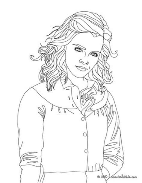 Hermione Granger Coloring Pages Coloring Pages Hermione Coloring Pages