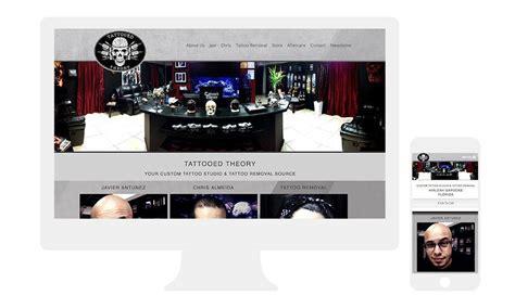 tattoo parlour websites website design company orlando orlando web design