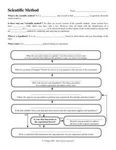 doc 610473 scientific method worksheet scientific