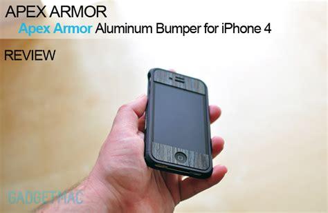 Iphone 6 Plus Armor Cover Bumper Casing Mewah Keren Gaul apex armor aluminum bumper for iphone 4 gadgetmac