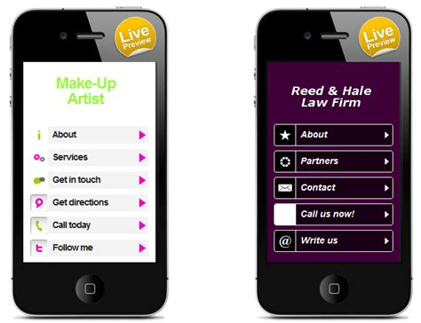 wix mobile wix releases new mobile templates