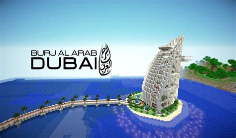 Kitchen Blocks Island Kitchen by Burj Al Arab Hotel Dubai Minecraft Project