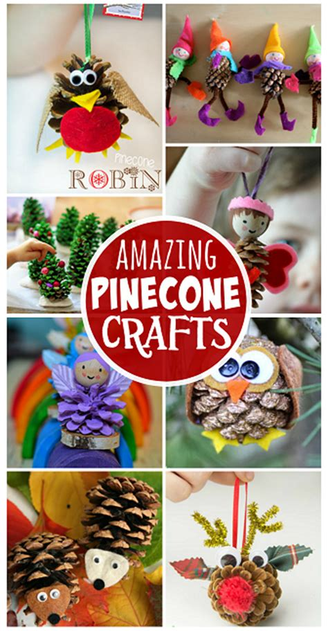 pine cone crafts for kids to make find an owl christmas