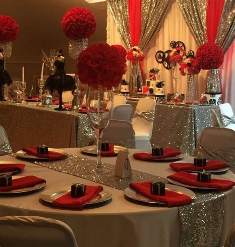 party themes elegant elegant party decorations 50th birthday interior design