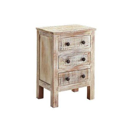 white nightstand with wood drawers ashley charlowe 3 drawer wood nightstand in white wash