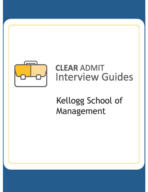 Kellogg Mba Post A by Guide Kellogg School Of Management