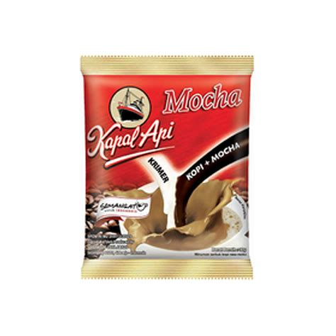 Kapal Api Kopi Bubuk 380 Gram jual kapal api mocha kopi bag 20 sachet 30 gram